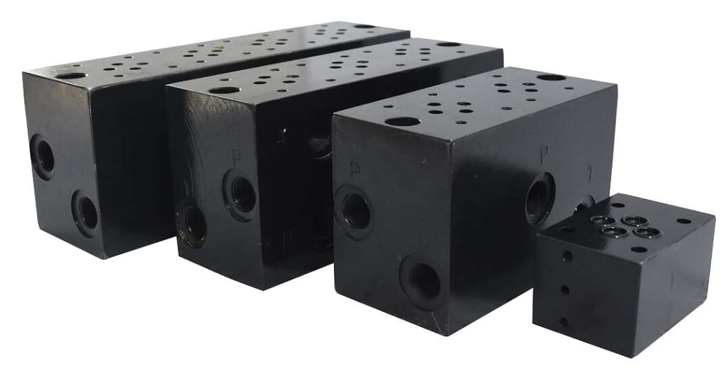 for hydraulic manifold blocks call +919818079220