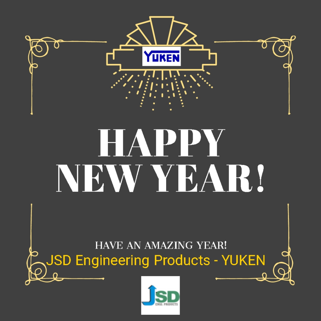 May happiness and health follow you in the year to come. Happy New Year 2020 from JSD Engg Products YUKEN ajay@jsdgroup.in